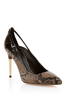 Leather court shoe 'Bailye-P'