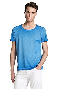 T-shirt with breast pocket 'Dony'