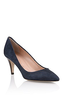 Genuine suede court shoe 'Lyonne-S'