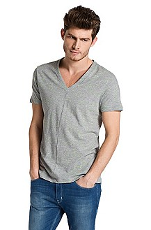 V-neck T-shirt 'Droid'