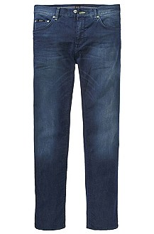 Jean Regular Fit en denim, Maine