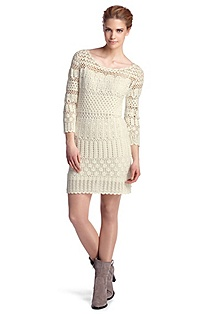 Knit dress with a slip 'Wanri'