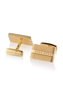 Brass cufflinks 'Wikos'