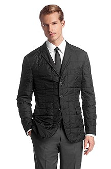 Quilted tailored jacket 'The International'