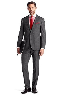 Suit with new wool 'Huge1/Genius1'