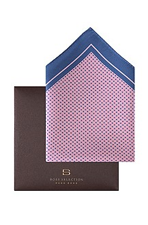 Polka dot pocket square 'Pocket Square 33x33'