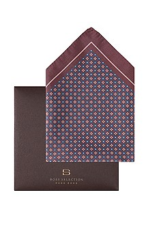 Bedrukte pochet ´Pocket square 33x33`