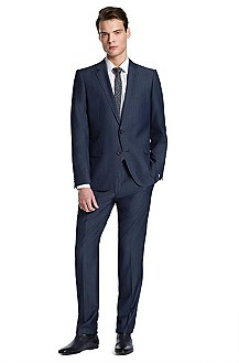 Slim Fit suit 'Aiko1/Heise'