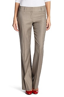 Suit trousers in a new wool blend 'Tuliana2'