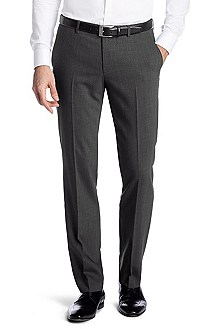 Suit trousers in a new wool blend 'Shark4'