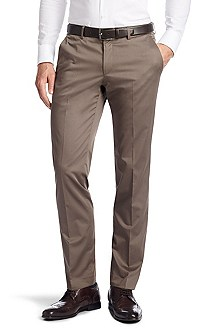 Pantalon business de coupe Regular Fit, Genesis1
