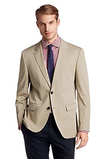 Tailored jacket with notch lapel 'The James4'