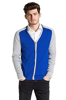 Cotton-cashmere cardigan 'Svanin'