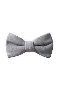 Cotton blend bow tie 'Big Bow Tie'
