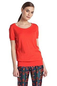 Top ´Sessica` van viscose-katoenmix
