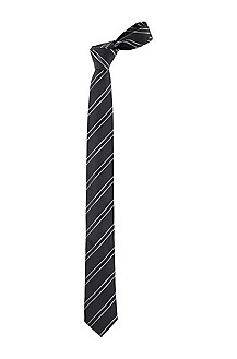 Cravate en pure soie, Tie 6 cm, Travel Line
