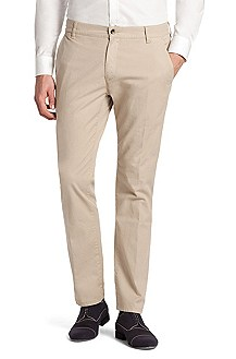 Stretch cotton chinos 'Hugo 15'