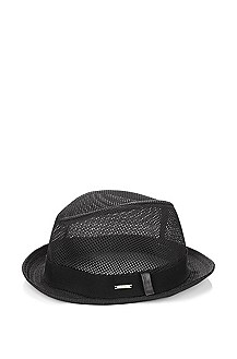 Chapeau effet filet, Men-x342-10