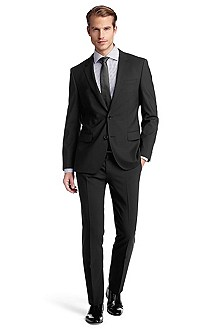 Costume Slim Fit en laine vierge, Huge1/Genius1