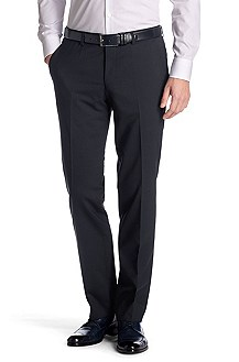 New wool/elastane suit trousers 'Shout'