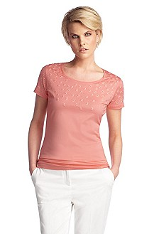 T-shirt with a round neckline 'E4731'