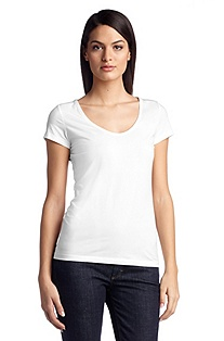 T-shirt with a round neckline  'E4737'