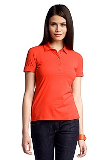 Polo shirt with a button placket 'E4738'