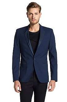 Veston Fashion Slim Fit, Awan