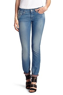 Slim fit jeans ´Lunja1` van stretchy denim