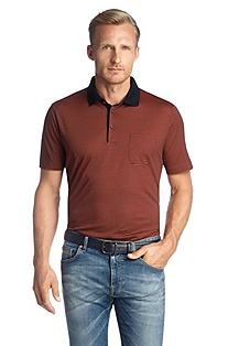 Cotton piqué polo shirt 'Rogers 05'