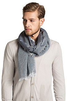 Modal blend scarf from HUGO 'Men-Z 395'