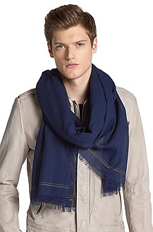 Cotton scarf 'Men-Z 389'
