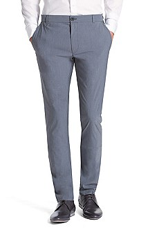 Fashion slim fit cotton blend chinos 'Heldor'