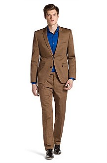 Fashion Slim Fit suit by HUGO 'Adris/Heibo'