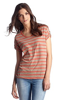 T-shirt with a round neckline 'Tirget'