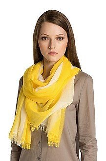 Cotton scarf from HUGO 'Women-Z 416'