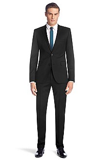 Slim fit, two-button suit 'Aeron1/Hamen1'