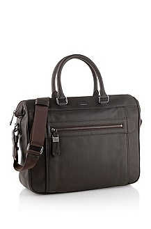 Genuine cowhide workbag 'Gombei'