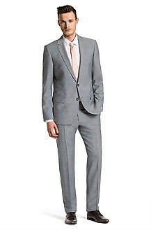 Modern slim fit suit from HUGO 'Amaro/Heise'