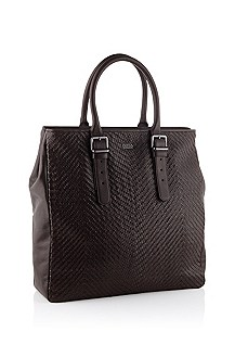 Leather shopper 'Corling'