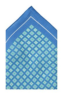 Linen pocket square 'Pocket square 33x33'