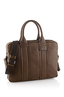 Work bag in premium cowhide leather 'Saltin'