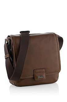 Cowhide leather reporter bag 'Sangal'