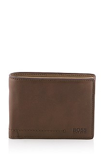 Genuine cowhide leather wallet 'Sallav'