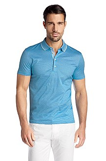 Polo Regular Fit en coton, Bugnara 20