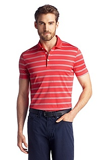 Pure cotton polo shirt 'San Remo'