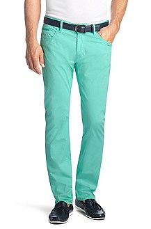 Cotton blend trousers 'Skender1-D'