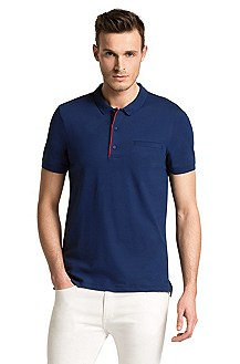 Slim fit polo shirt 'Dathis'