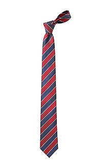 Tie with block stripes 'Tie 7,5 cm'