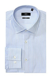 Chemise business Slim Fit à col Kent, Jenno